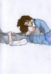 Jem and Tessa's Kiss by Applenoob45 on DeviantArt