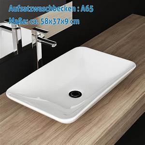 Tisch Für Aufsatzwaschbecken : design bad keramik waschbecken tisch waschplatz waschschale handwaschbecken ebay ~ Markanthonyermac.com Haus und Dekorationen