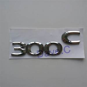 car 300 c 300c emblem custom abs chrome 3d letter badge With custom emblem letters