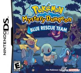 pokemon mystery dungeon blue rescue