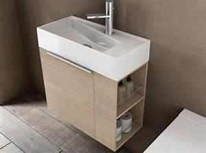 40 meubles pour une petite salle de bains elle decoration With porte de douche coulissante avec meuble salle de bain 40 cm profondeur