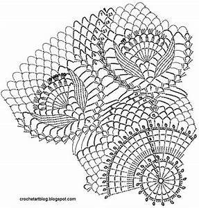 17  Images About Crochet Doilies Diagrams On Pinterest