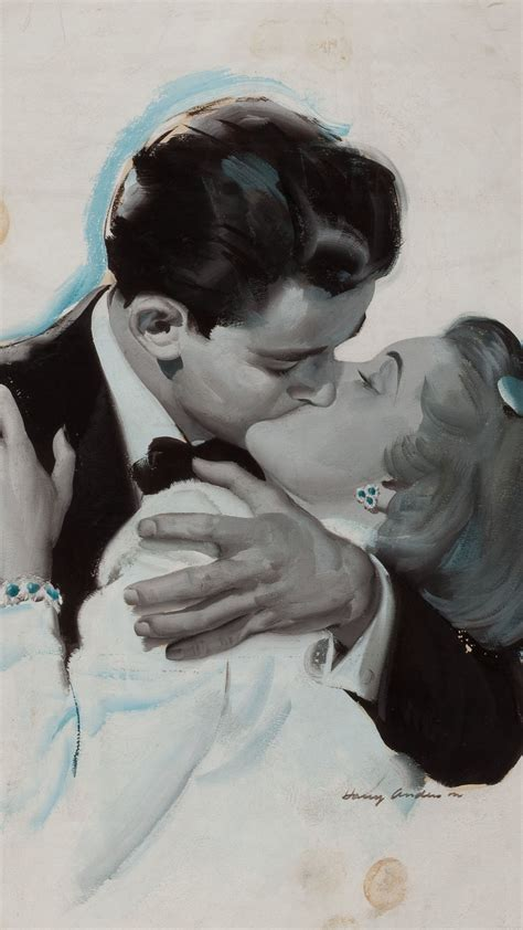 aj  couple love vintage art illust anderson harry
