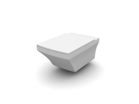 wall mounted toilet  model dsmax files