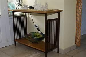 Meuble Bois Fer : meuble fer et bois fer d 39 olt ~ Melissatoandfro.com Idées de Décoration