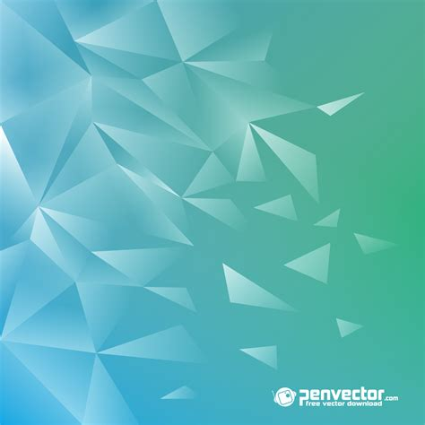 green tosca lowpoly modern background green tosca free vector vectorpic