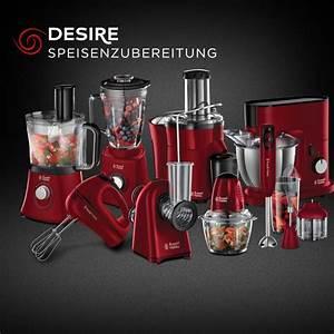 Küchenmaschine Russell Hobbs : k chenmaschine russell hobbs desire 19006 56 food processor rot ebay ~ Frokenaadalensverden.com Haus und Dekorationen