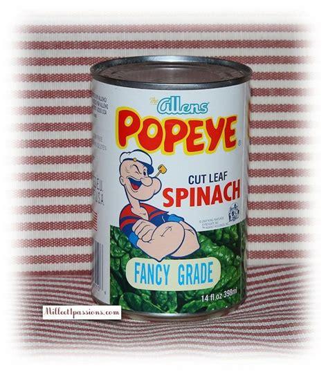 cuisiner epinard en boite depuis popeye et ses épinards jusqu 39 au délire de la bouffe nord américaine les