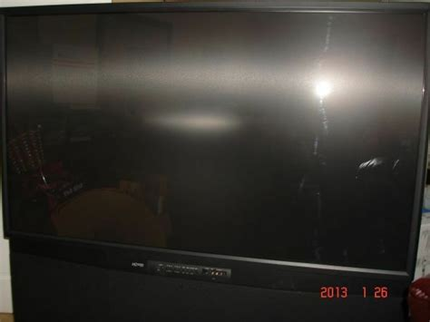 Mitsubishi Projection Tv L by 65 Quot Mitsubishi 1080p Hd Ws A65 Rear Projection Tv Ebay