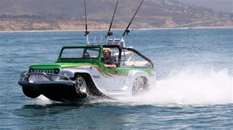 Amphibious Car Faster
