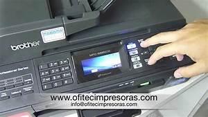 Limpieza De Cabezales Impresora Multifunci U00f3n Brother