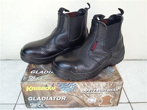 jual beli sepatu safety shoes krisbow gladiator