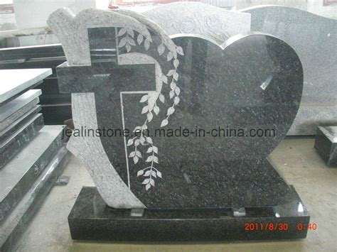 china butterfly blue headstone tree cross and