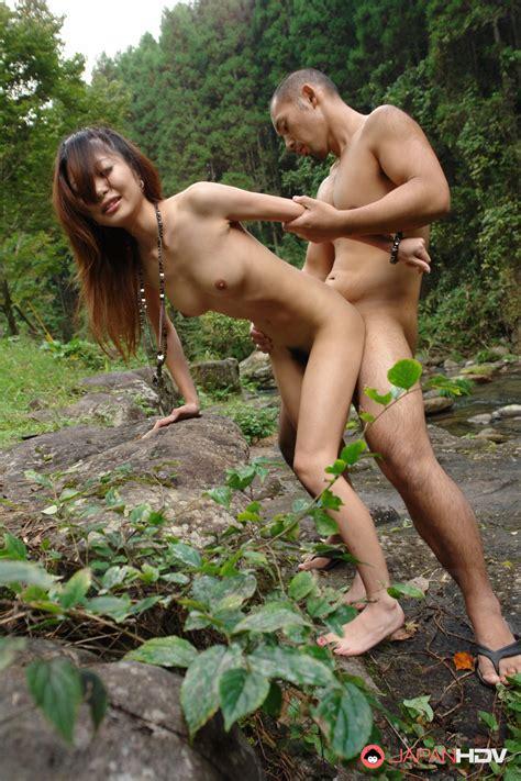 Outdoor Sex Session With Sakurako