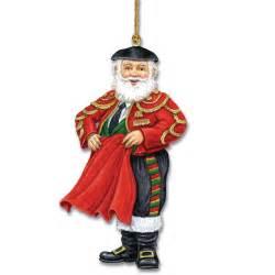 santa around the world ornaments the danbury mint