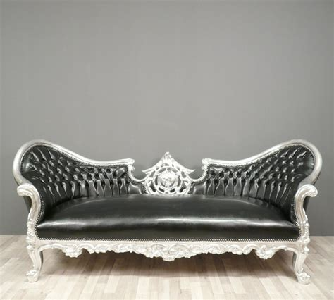 canapé baroque black baroque sofa armchairs