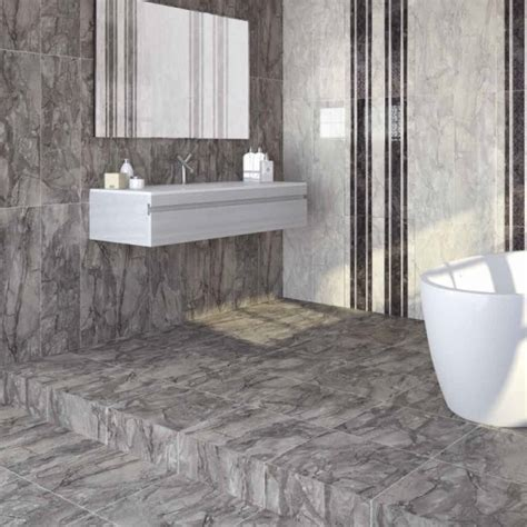dreire high gloss floor tiles grey direct tile