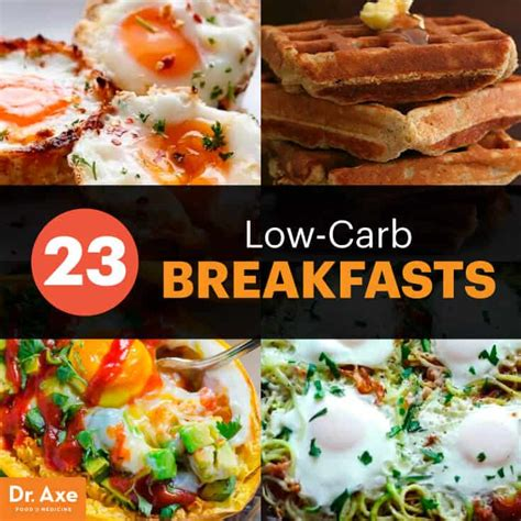 carb breakfasts  start  day  dr axe