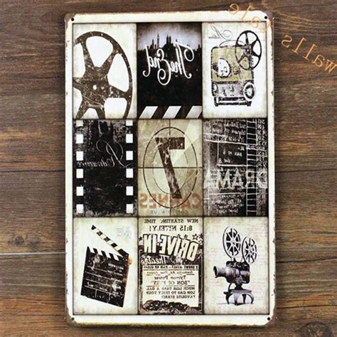 Cinema wall decor help in the organization of things, they are also key in making your space cozier as well as adding exquisite contrast and pattern. 2020 Latest Home Theater Wall Art