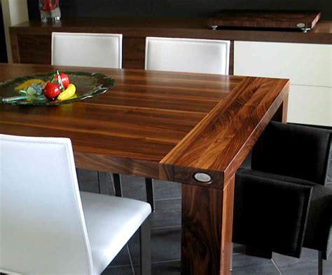 table cuisine bois table de cuisine en bois