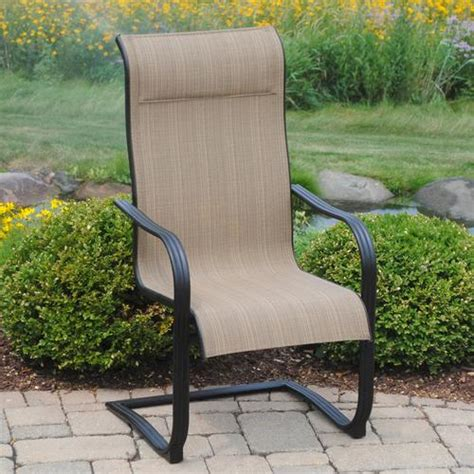 backyard creations cascade falls chair at menards 174
