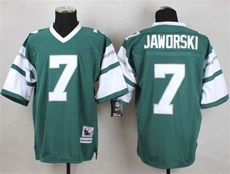 Cheap Mitchell And Ness Eagles #7 Ron Jaworski Green