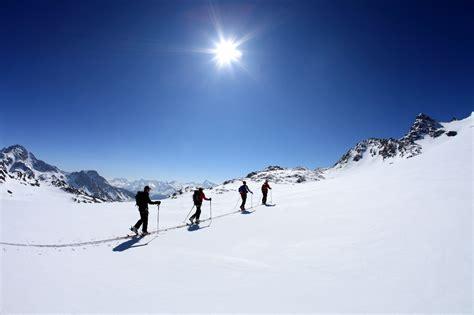 ski de rando objectif l 233 g 232 ret 233 conseils de guide par allibert trekking savoie mont blanc