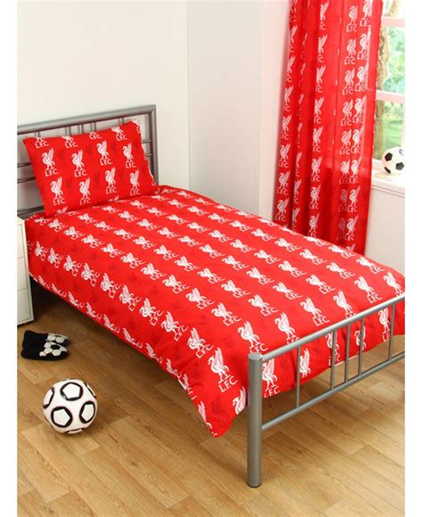 Football Bed by Official Liverpool Fc Football Duvet Bedding Quilt Kop Bed