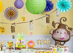 Jungle Animals Baby Shower Ideas - Party City