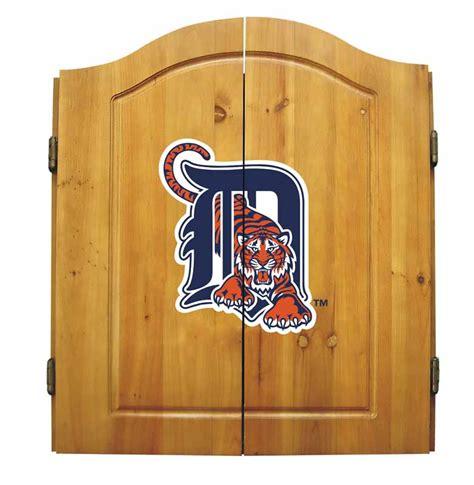 detroit tigers dart cabinet