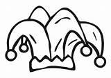 Narrenkappe Giullare Bouffon Jester Karneval Muts Harlekijn Arlequin Gorro Wintermuts Ausmalen Schulbilder Malvorlagen Schoolplaten Educolor Ideeen Nieuwbouw sketch template