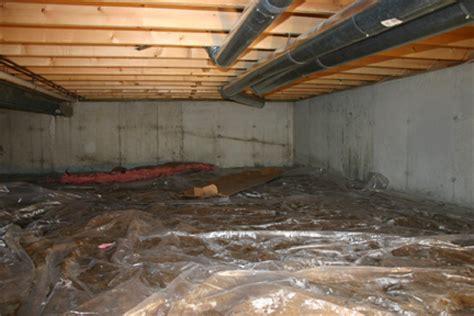 Foam Insulation Crawl Space Dirt Floor by Crawl Space Insulation Liberty Insulation