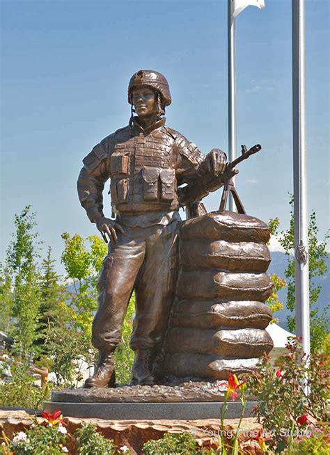 custom bronze military monuments veterans memorial   behance
