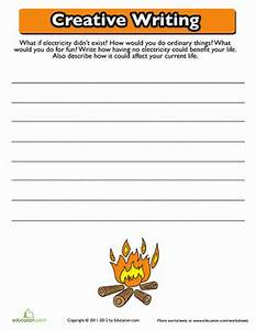 Creative Writing: Electricity   Creative writing ...