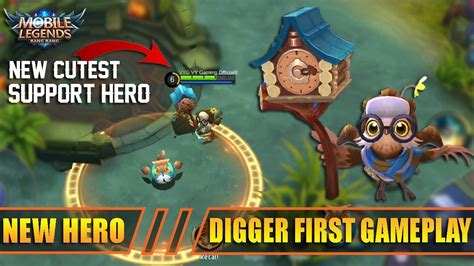 New Hero Digger Timekeeper The Best Support Hero First