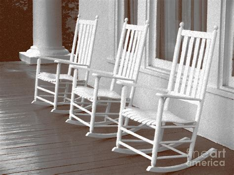 rocking chair porch by peaty