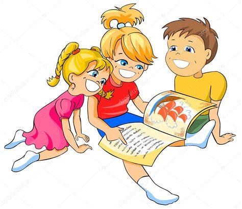 children reading  book stock photo  regissercom