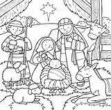 Jesus Coloring Pages Birth Printable Nicodemus Children Lessons Zaccheus Sight sketch template