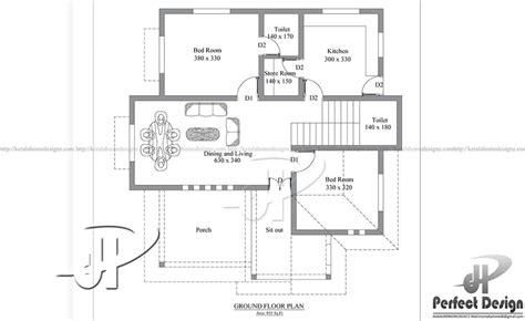 925sqft Small Home Design  Kerala Home Design
