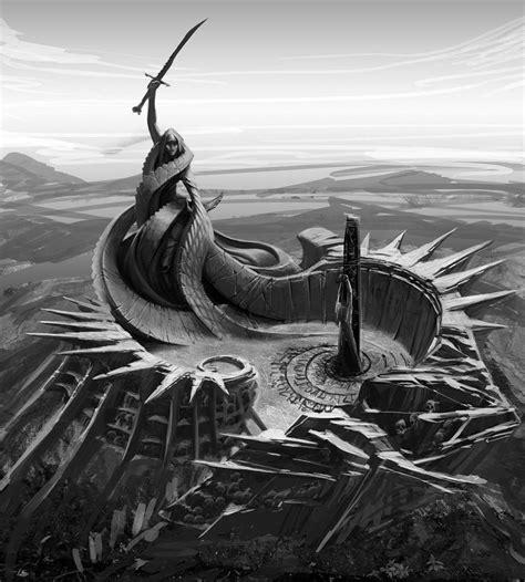 Concept Art Of Boethia From The Elder Scrolls V Skyrim By