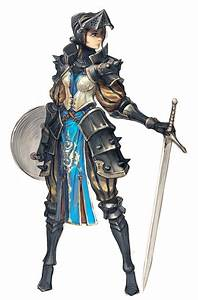 Female Knight — polycount