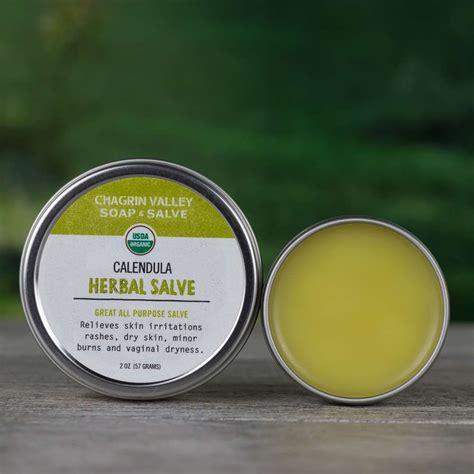 organic salve calendula chagrin valley soap