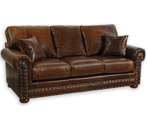 western sofas western leather sofas