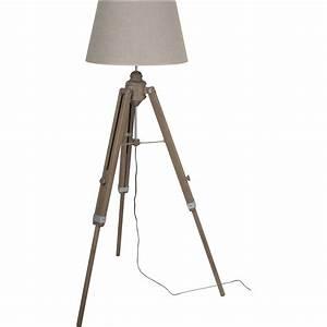 Lampadaire Extérieur Leroy Merlin : lampadaire augustin 160 cm beige 100 w leroy merlin ~ Carolinahurricanesstore.com Idées de Décoration