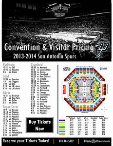 Visit Sa Seating Map San Antonio Spurs