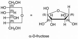 structural formula - How do I arrive at correct furanose ...