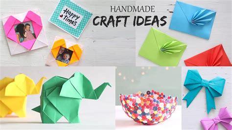easy handmade craft ideas handcraft diy activities
