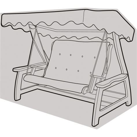 2 seater swing seat cover