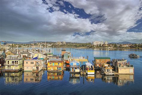 fishermans wharf victoria vancouver island british
