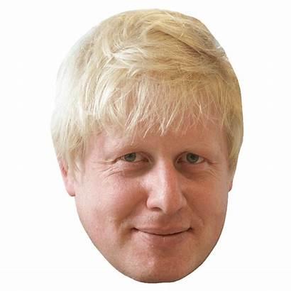 Boris Johnson Face Transparent Clip Xi Cut